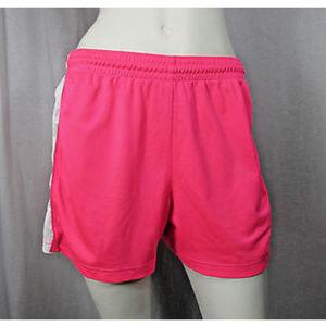 🌸Nike Hot Pink White Athletic Running Shorts